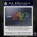 Slayer Decal Sticker Spectrum Vinyl Black 120x120