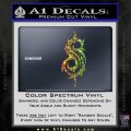 Slip Knot Band Decal Sticker S Spectrum Vinyl Black 120x120