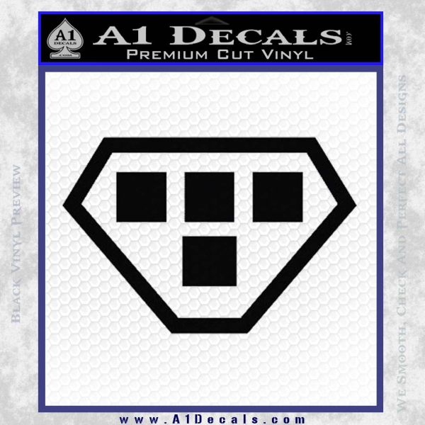 Tron Rinzler Symbol Legacy Decal Sticker A1 Decals