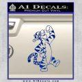 Tigger D1 Decal Sticker Winnie The Pooh Blue Vinyl Black 120x120