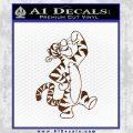 Tigger D1 Decal Sticker Winnie The Pooh Brown Vinyl Black 120x120
