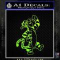 Tigger D1 Decal Sticker Winnie The Pooh Neon Green Vinyl Black 120x120