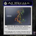 Tigger D1 Decal Sticker Winnie The Pooh Spectrum Vinyl Black 120x120