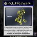 Tigger D1 Decal Sticker Winnie The Pooh Yellow Vinyl Black 120x120