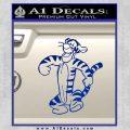 Tigger D2 Decal Sticker Winnie The Pooh Blue Vinyl Black 120x120