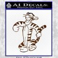 Tigger D2 Decal Sticker Winnie The Pooh Brown Vinyl Black 120x120