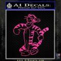 Tigger D2 Decal Sticker Winnie The Pooh Neon Pink Vinyl Black 120x120