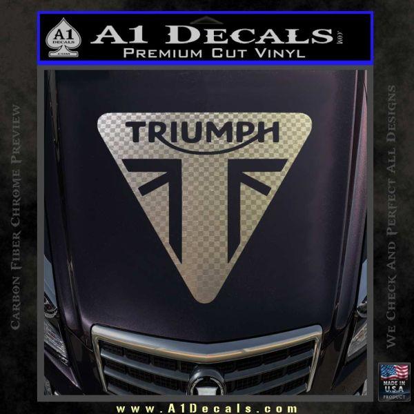 Triumph Motorcycles Tri Decal Sticker 187 A1 Decals