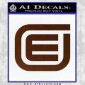 Tron Encom Decal Sticker BROWN Vinyl 120x120