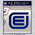 Tron Encom Decal Sticker Blue Vinyl 120x120