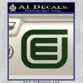 Tron Encom Decal Sticker Dark Green Vinyl 120x120