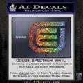 Tron Encom Decal Sticker Glitter Sparkle 120x120