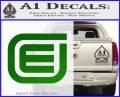 Tron Encom Decal Sticker Green Vinyl Logo 120x97