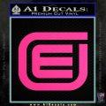 Tron Encom Decal Sticker Pink Hot Vinyl 120x120
