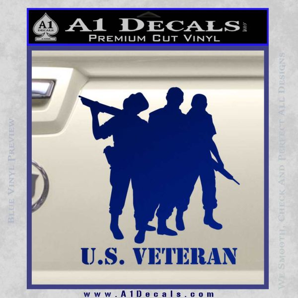 Us Veterans Decal Sticker Army Navy Marine Air Force 187 A1