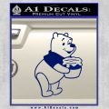 Winnie The Pooh Honey Pot Decal Sticker Blue Vinyl 120x120