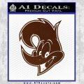 Woody Wood Pecker Decal Sticker BROWN Vinyl 120x120