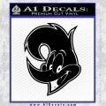 Woody Wood Pecker Decal Sticker Black Vinyl 120x120