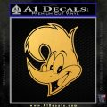 Woody Wood Pecker Decal Sticker Gold Vinyl 120x120