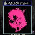 Woody Wood Pecker Decal Sticker Pink Hot Vinyl 120x120