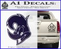 Woody Wood Pecker Decal Sticker PurpleEmblem Logo 120x97