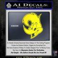 Woody Wood Pecker Decal Sticker Yellow Laptop 120x120