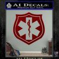 EMS Badge Decal Sticker DRD Vinyl 120x120