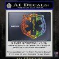 EMS Badge Decal Sticker Glitter Sparkle 120x120