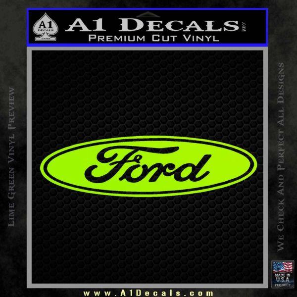 ford logo decal sticker   decals