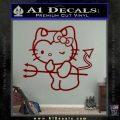 Hello Kitty Devilish Decal Sticker D1 DRD Vinyl 120x120