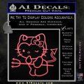 Hello Kitty Devilish Decal Sticker D1 Pink Emblem 120x120