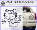 Hello Kitty Devilish Decal Sticker D1 PurpleEmblem Logo 120x97