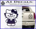 Hello Kitty Nerd Decal Sticker D1 PurpleEmblem Logo 120x97