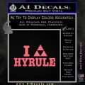 I Heart Hyrule Triforce Decal Sticker Zelda Pink Emblem 120x120