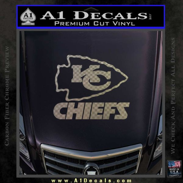 Kansas City Chiefs Decal Sticker A Decals - Custom vinyl stickers kansas city