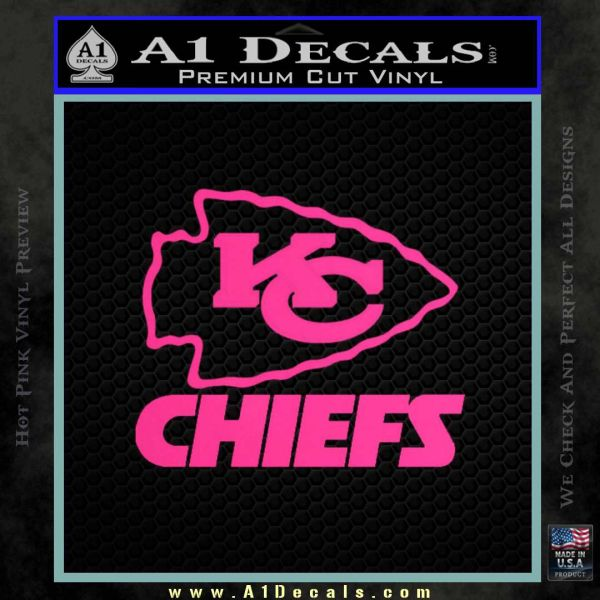 new style 740af 934e2 Kansas City Chiefs Decal Sticker » A1 Decals