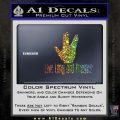 Live Long And Prosper Decal Sticker Glitter Sparkle 120x120