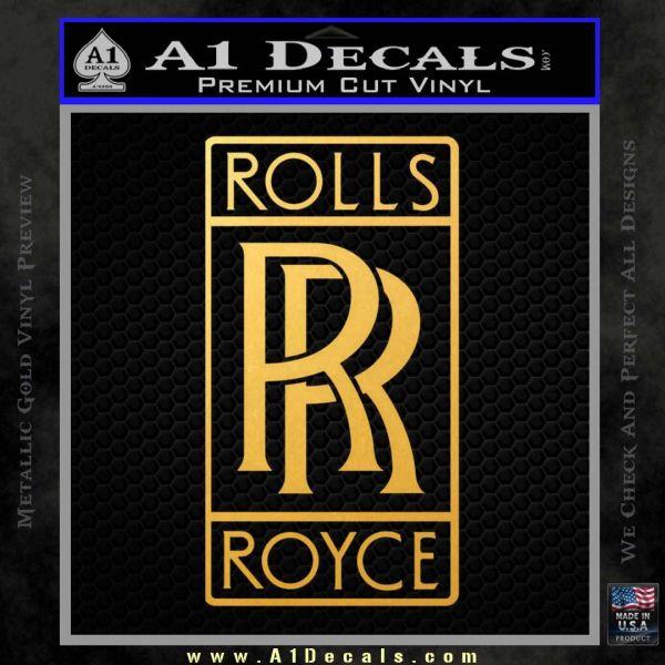 Rolls Royce Emblem Decal Sticker D1 » A1 Decals