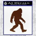 Sasquash Bigfoot Decal Sticker BROWN Vinyl 120x120