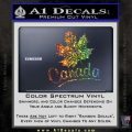 Canada Canadian Text Decal Sticker Glitter Sparkle 120x120