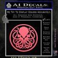 Cthulhu Emblem Necronomicon D1 Decal Sticker Pink Emblem 120x120