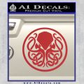 Cthulhu Emblem Necronomicon D1 Decal Sticker Red 120x120