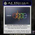 Dope JDM Decal Sticker Audi Glitter Sparkle 120x120