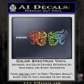 Eyes Of Horus Decal Stickers Rah 2Pk Glitter Sparkle 120x120