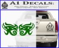 Eyes Of Horus Decal Stickers Rah 2Pk Green Vinyl Logo 120x97