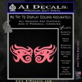 Eyes Of Horus Decal Stickers Rah 2Pk Pink Emblem 120x120