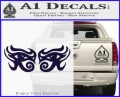 Eyes Of Horus Decal Stickers Rah 2Pk PurpleEmblem Logo 120x97
