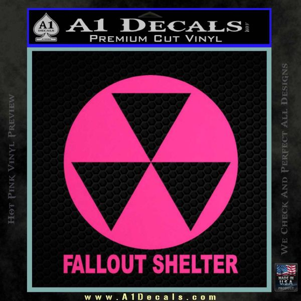 Fallout Shelter Decal Sticker A1 Decals