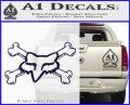 Fox Bones Decal Sticker PurpleEmblem Logo 120x97