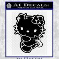 Hello Kitty Devilish Decal Sticker D2 Black Vinyl 120x120